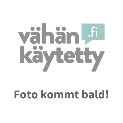 Türkis Leinen poncho - Voglia